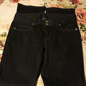 Chach'e stretch Slim Boot Jeans size 6